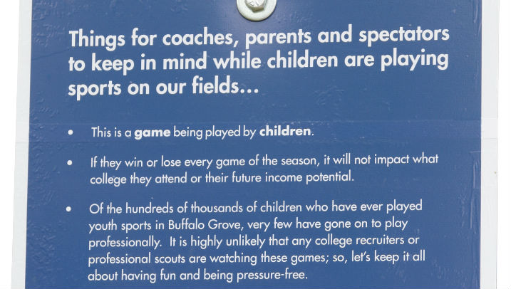 Behavior Sign buffalo grove