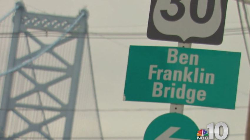 Ben Franklin Bridge Generic Sign