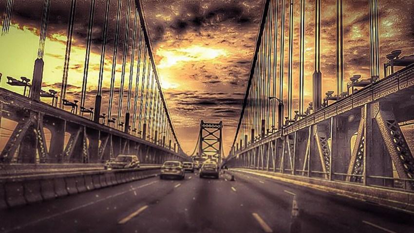 Ben Franklin Bridge Instagram tamaratmf