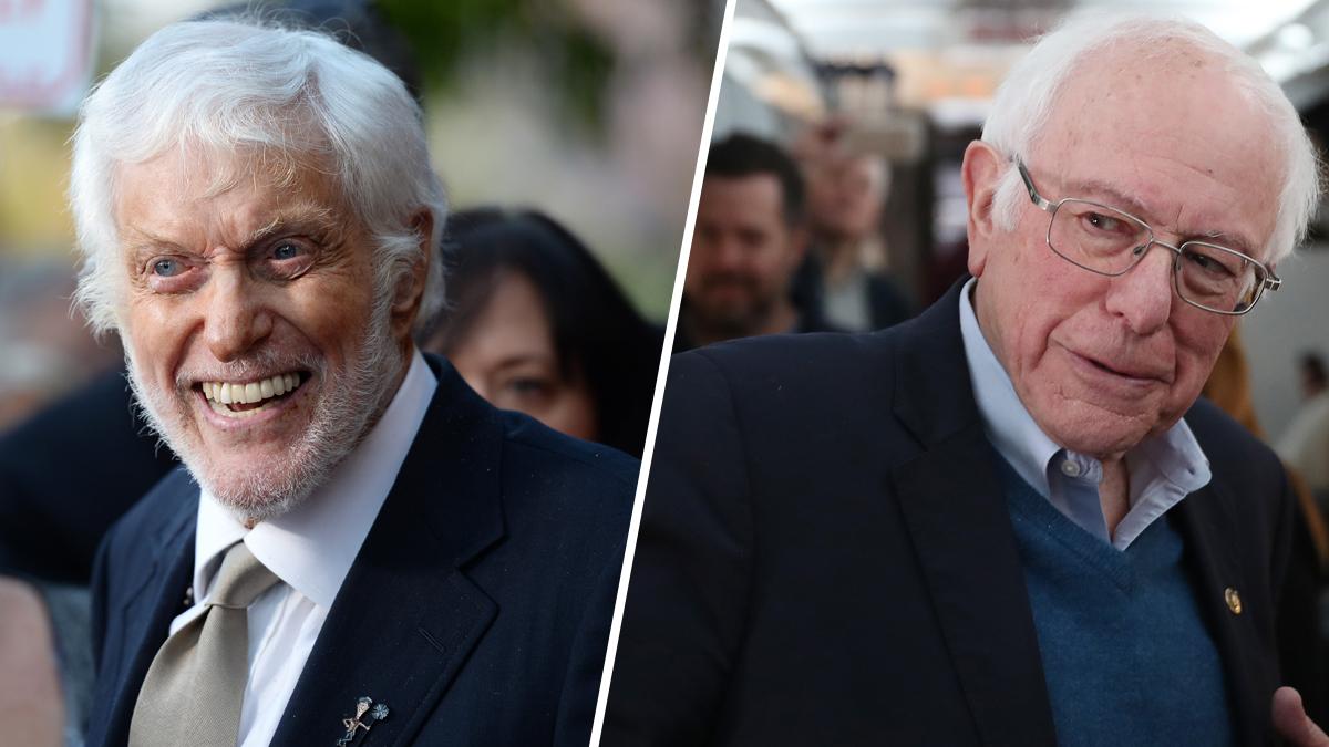 With Dick Van Dyke's Endorsement, Sanders Seeks Hipster Replacements