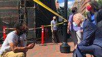 Joe Biden Visits Wilmington Day After Violence Erupts