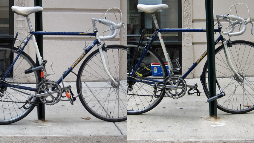 Bike Locking Right and Wrong