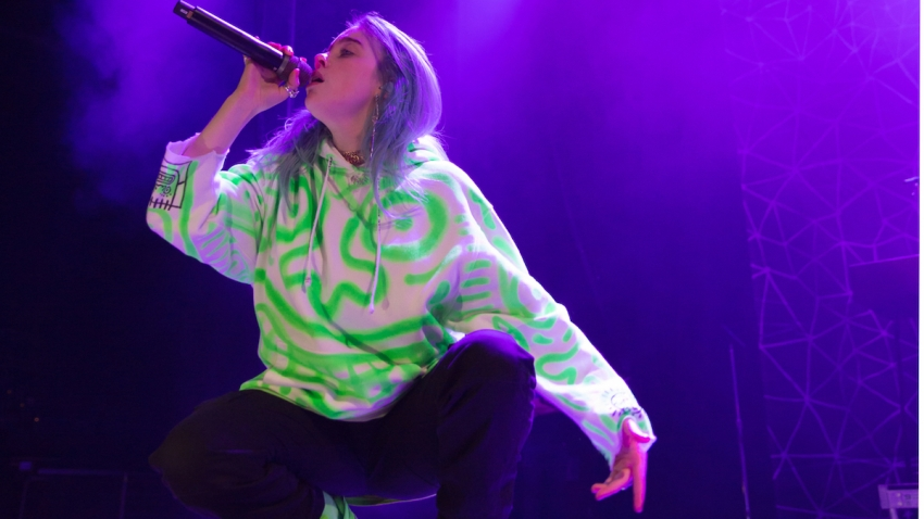 Billie Eilish by Fatima Kelley