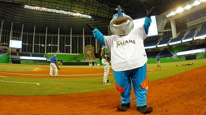 Billy the Marlin Marlins Mascot