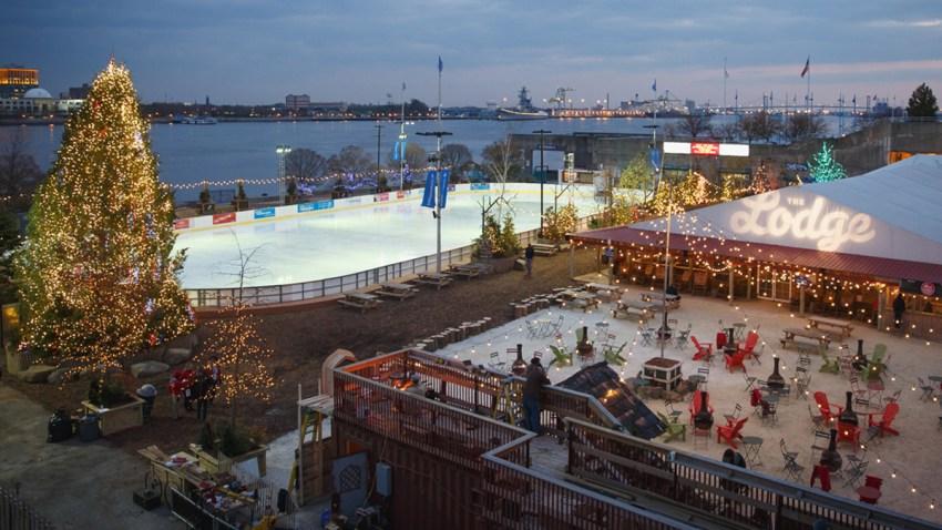 Blue Cross RiverRink Winterfest Rink