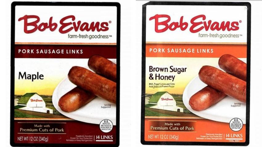 Bob Evans Sausage Links Recall