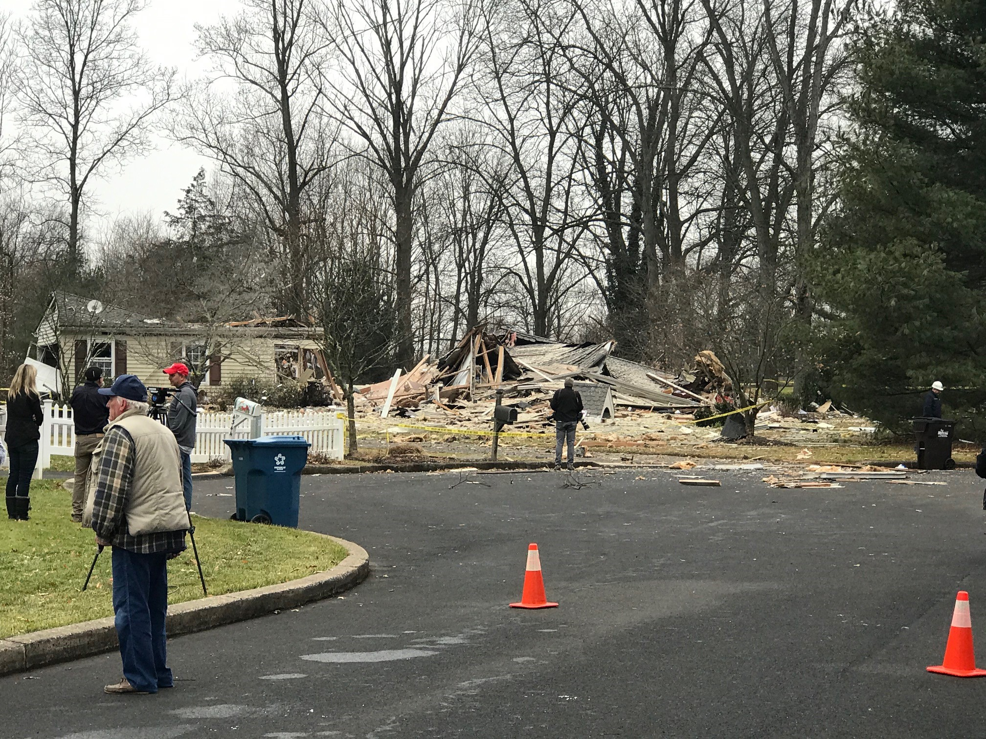 Buckingham Township House Explosion Friedman
