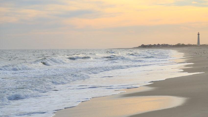 A Jersey Shore Beach