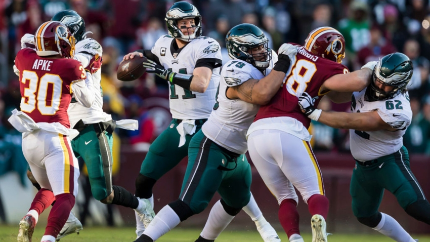 Eagles Keep Their Playoff Hopes Alive Beat Redskins 37 To