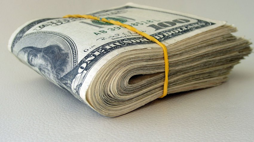Cash-Bills-folded-rubber-ba