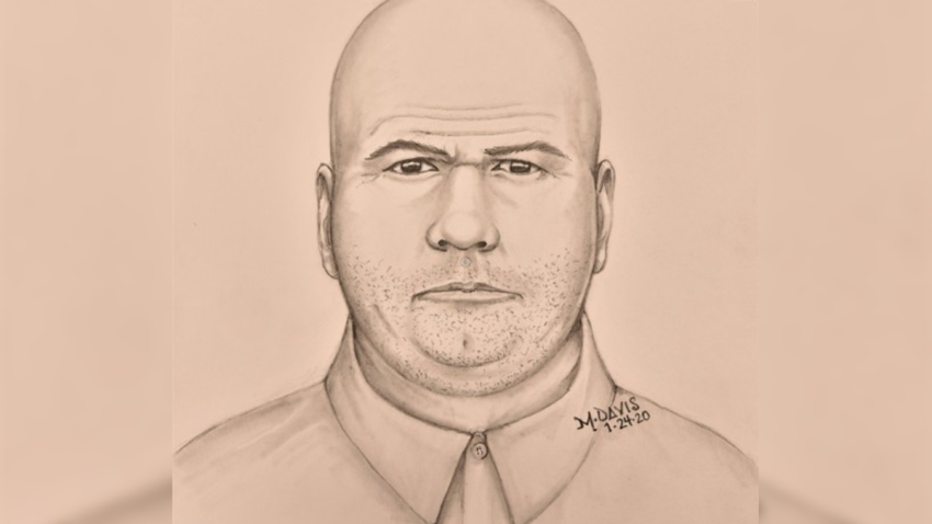 Sketch of sex assault suspect