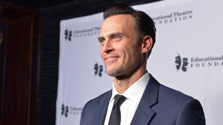 In this Nov. 18, 2019, file photo, Cheyenne Jackson attends the 2019 annual Thespians Go Hollywood Gala at Avalon Hollywood in Los Angeles, California.