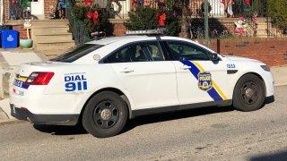 A Philadelphia police car
