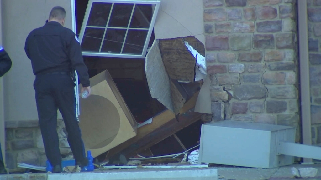 Damage to a day care building from a car