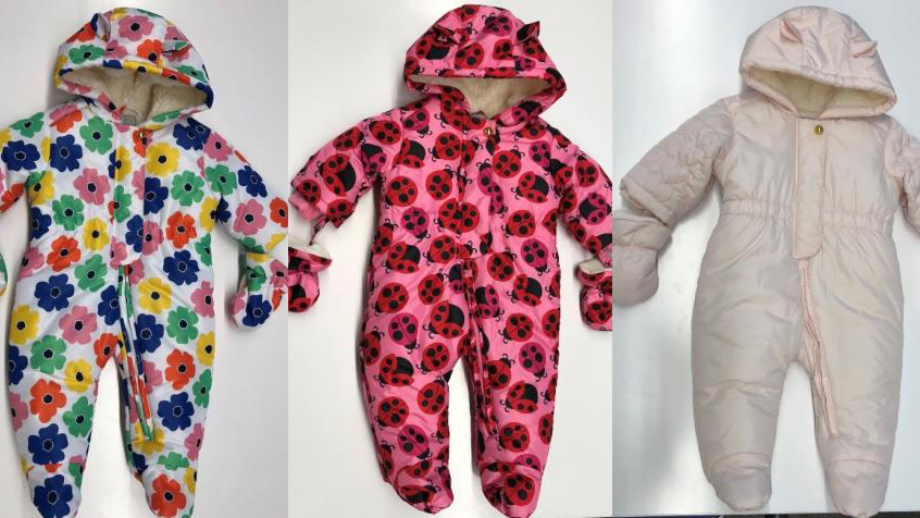 Children's Place Snowsuit Collage