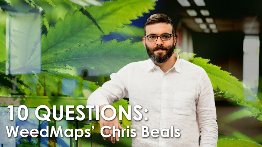 Chris Beals WeedMaps 10Q