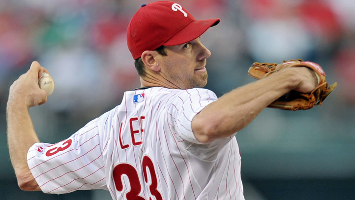 Cliff Lee Throws Vs Mets