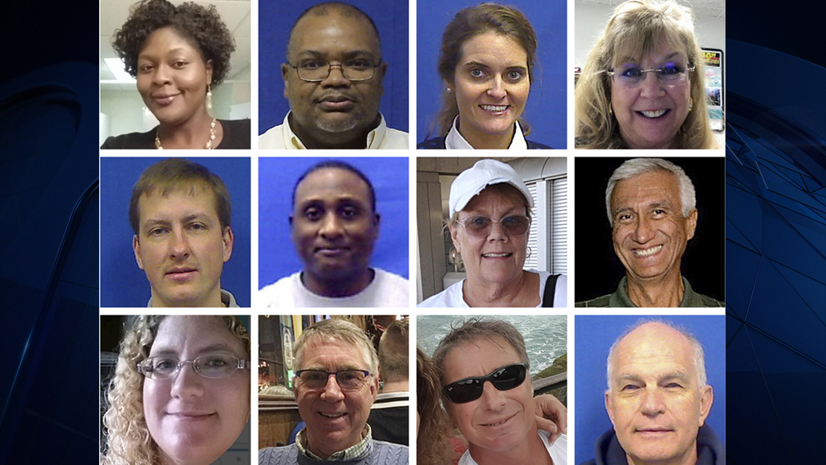 Remembering Victims Of The Va Beach