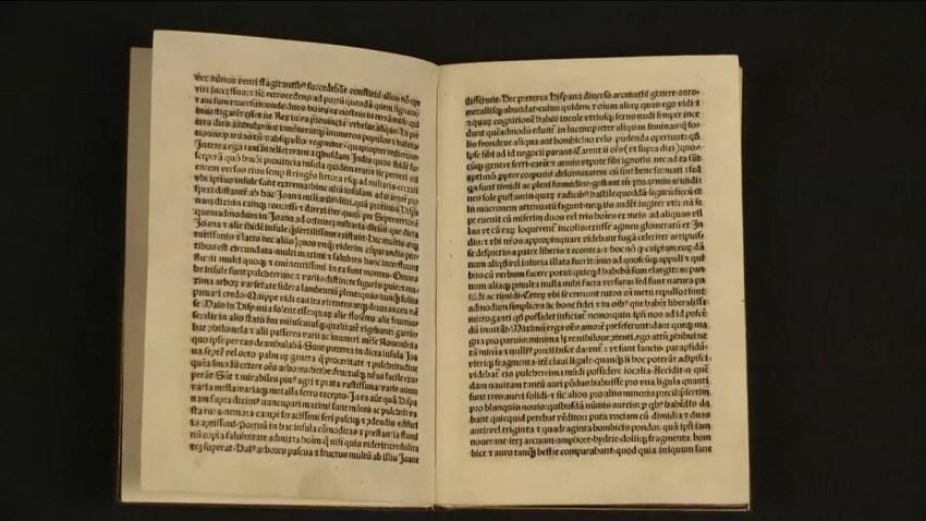Colombus letter 1493
