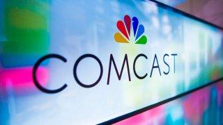 Comcast Center, Comcast Logos, Philadelphia