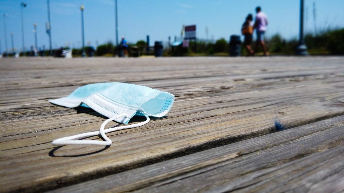 Coronavirus Mask on Boardwalk Delaware jpg?resize=1200,675.'