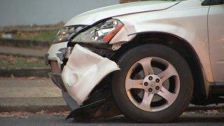 Cottman Avenue Vehicle Hurt