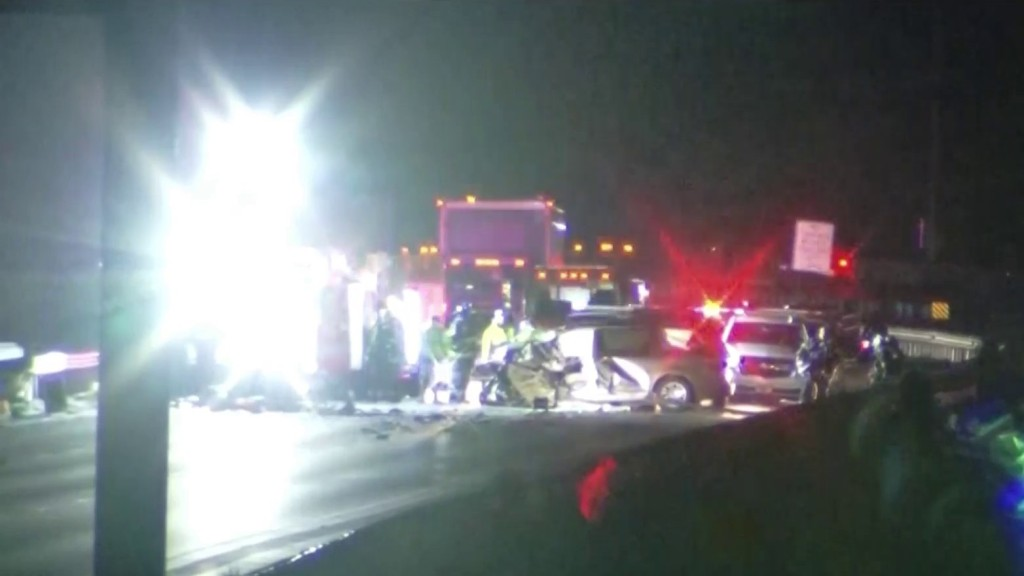 A deadly crash on I-95