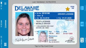 Delaware Mobile License 2