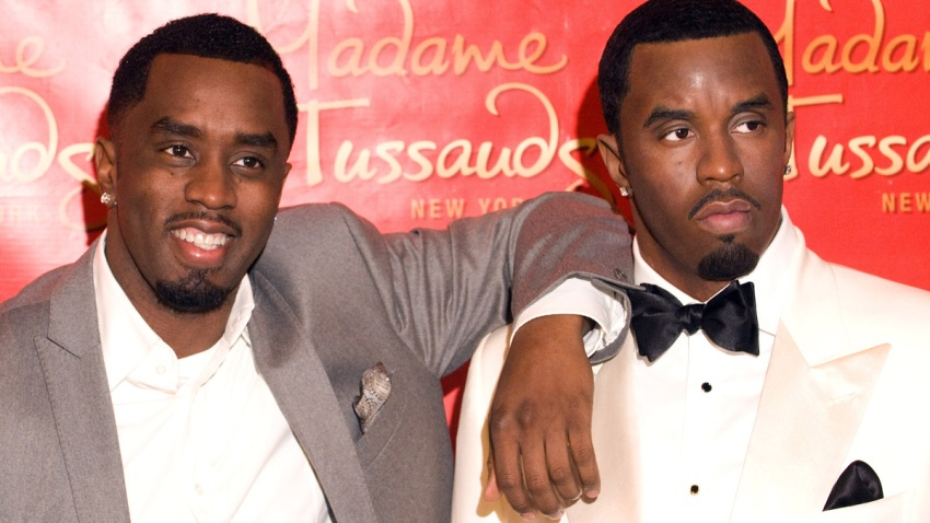 Sean Combs at Madame Tussauds