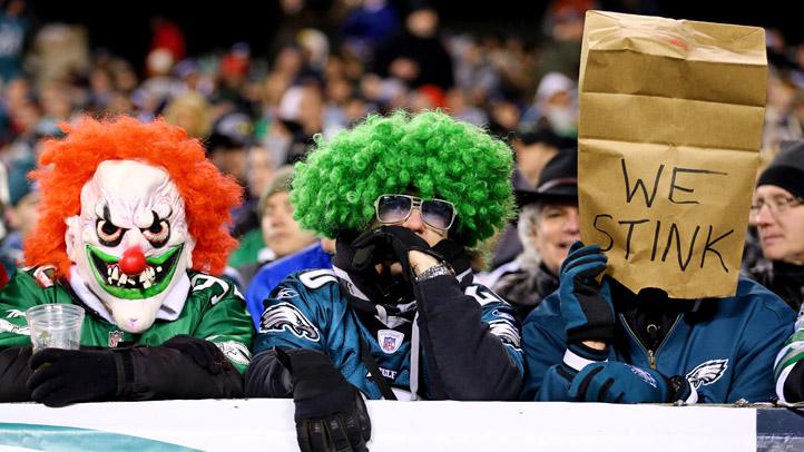Eagles Fans Upset