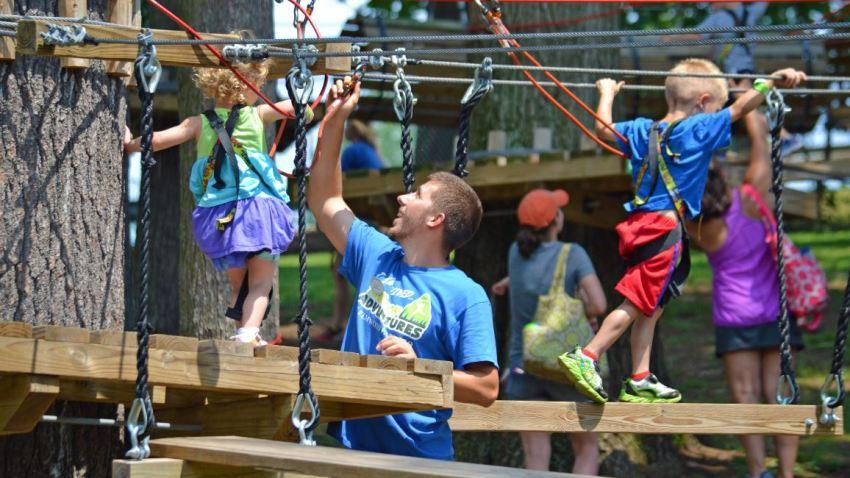 Elmwood Park Zoo Treetop Adventures