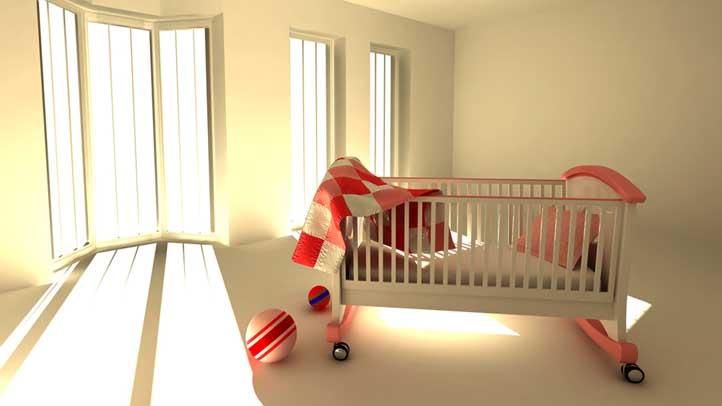 Empty Crib 722