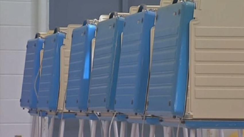 Empty Polling Place Election Day Voting Booth Election Generic