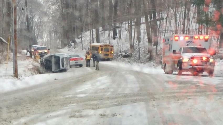 Exton School Bus Crash