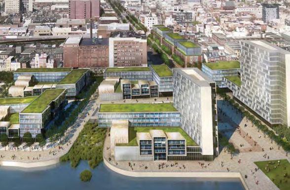 Festival Pier Delaware River Development