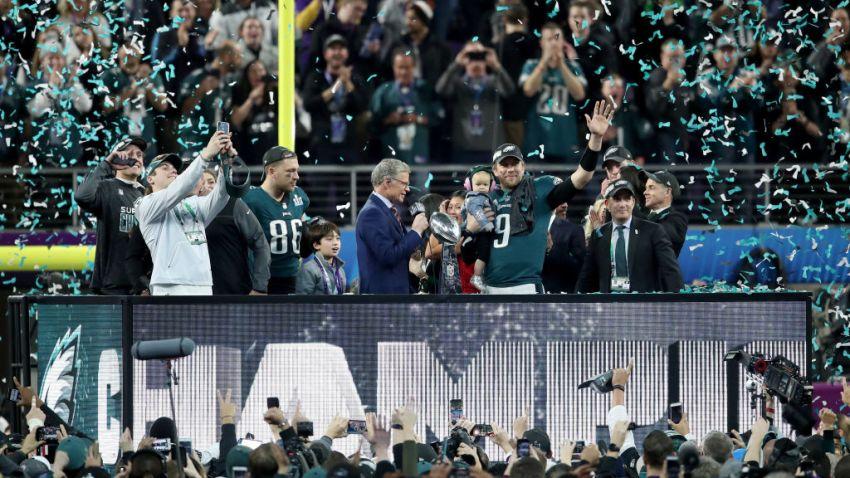 Nick Foles Named MVP of Super Bowl 52