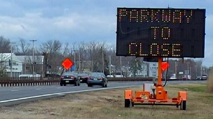 GSP Parkway Closure