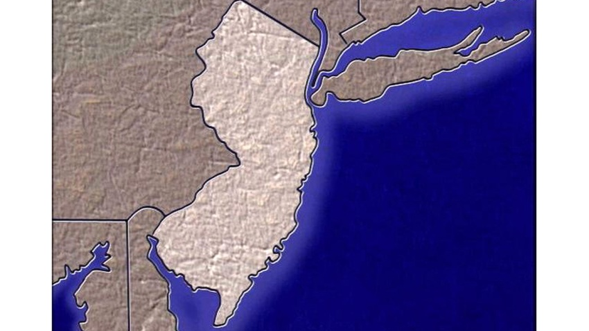 Generic New Jersey Map 2