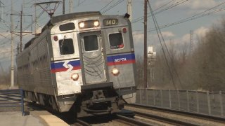 Generic SEPTA Train SEPTA Generic Wilmington