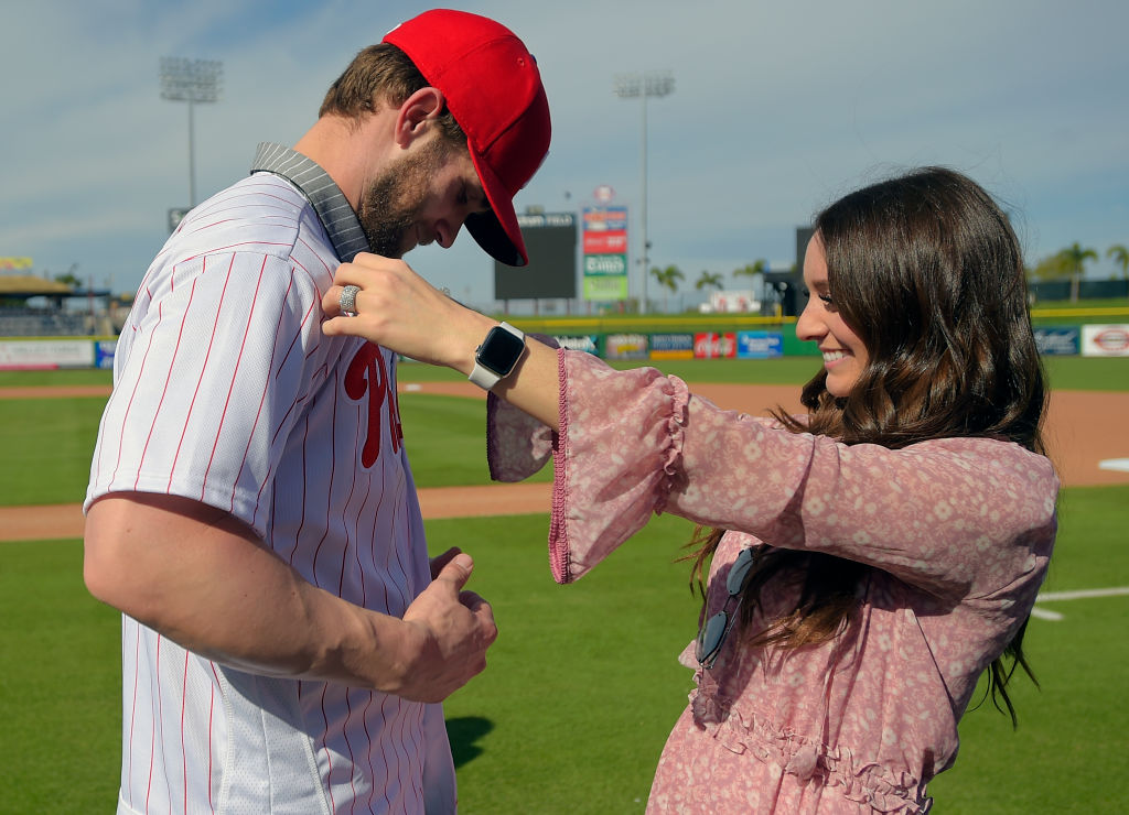 Bryce and Kayla Harper Donate $500K to Help Fight COVID-19 in Philly and Vegas