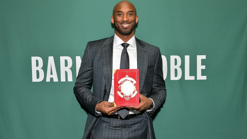 Kobe Bryant promotes his book