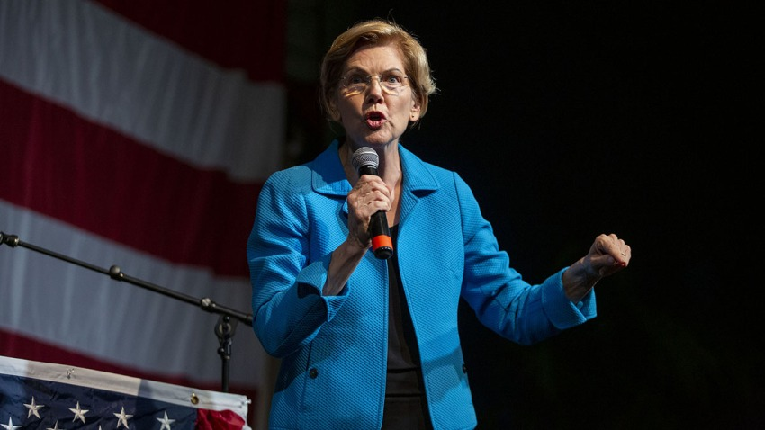 Elizabeth Warren-Democratic Wing Ding-Iowa
