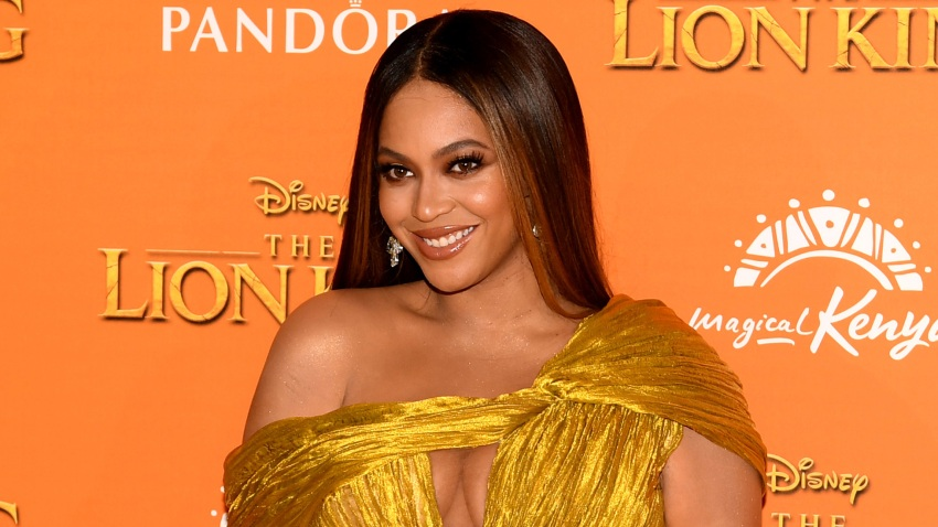 "Beyonce Knowles-Carter attends the European Premiere of Disney's ""The Lion King"" at Odeon Luxe Leicester Square on July 14, 2019"