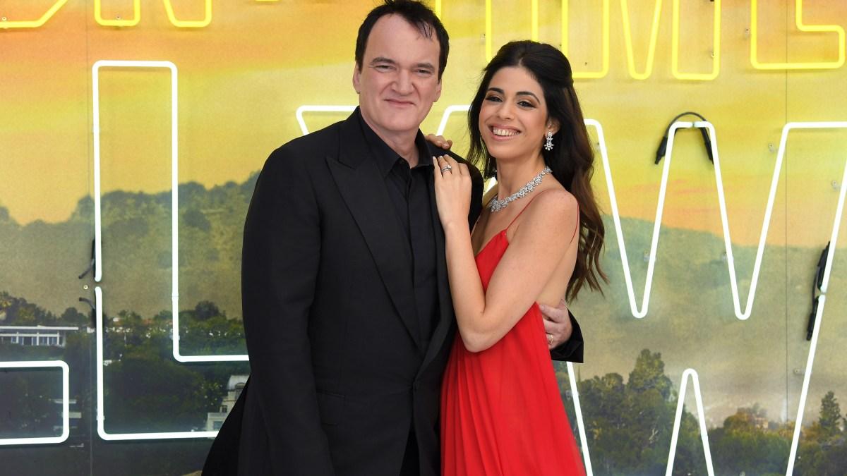 Quentin Tarantino and Wife Daniella Pick Welcome First Child