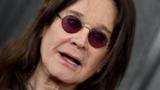 Ozzy Osbourne seen at the 62nd Annual GRAMMY Awards at Staples Center on Jan. 26, 2020, in Los Angeles, California.