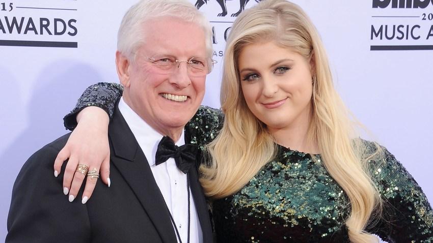 Meghan Trainor and father Gary Trainor