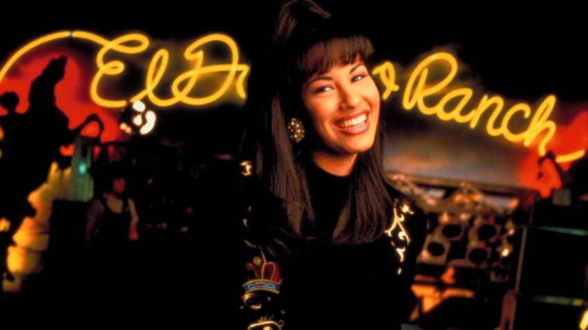 A photo of singer Selena Quintanilla Pérez