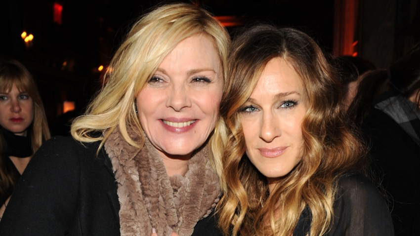 "In this Dec. 14, 2009, file photo, actors Kim Cattrall and Sarah Jessica Parker attend the premiere of ""Did You Hear About the Morgans?"" after party at The Oak Room in New York City."