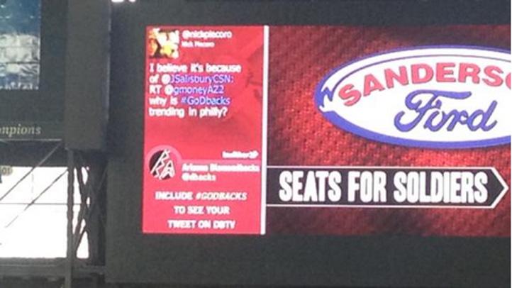 GoDbacks_Hashtag_Phillies_Fans_Troll_Diamondbacks