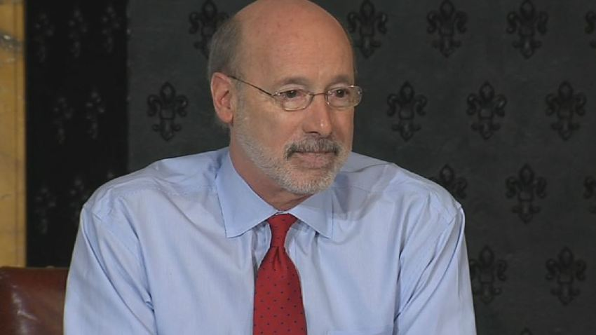 Governor Tom Wolf Cancer Announcement